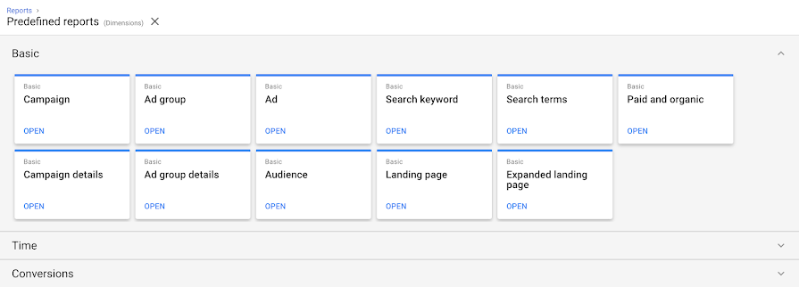 google new adwords