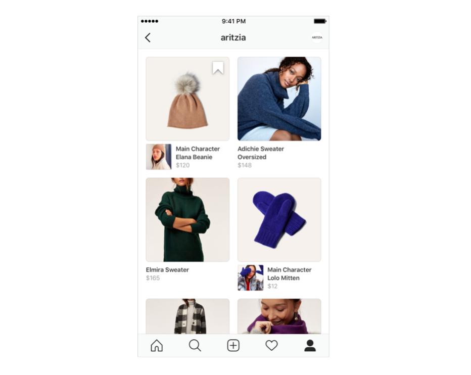 Instagram Shopping list