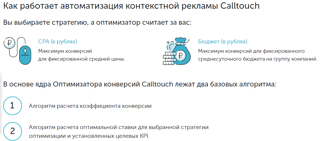 Оптимизатор Calltouch