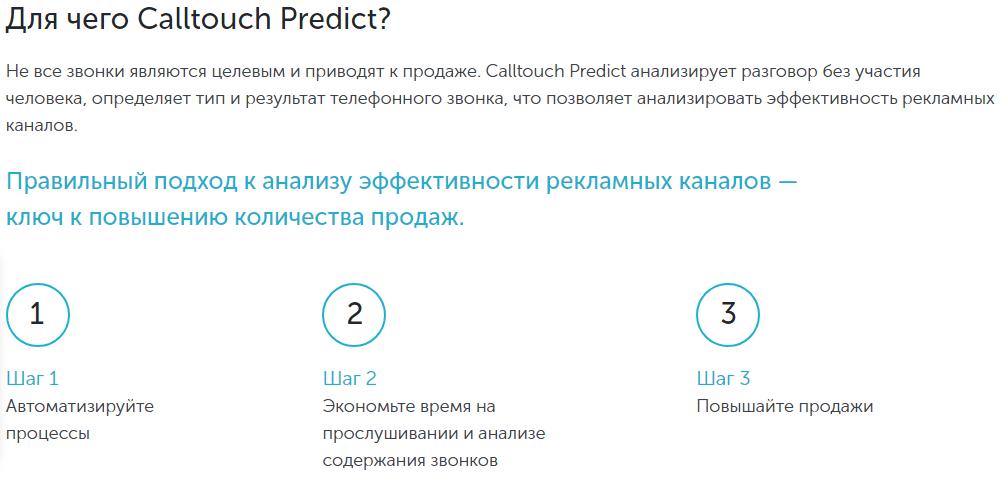 Predict Calltouch