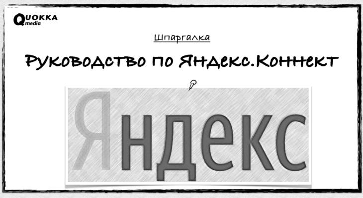 Руководство по Яндекс.Коннект