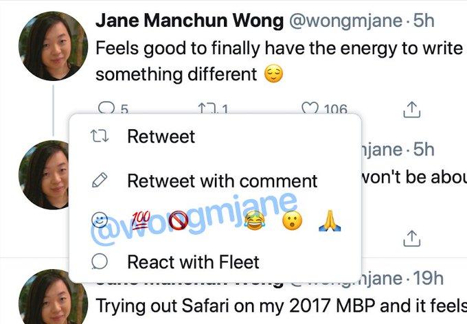 Twitter запустила новую функцию — использование эмодзи вместо лайков