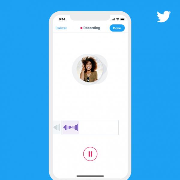 Twitter тестирует запись аудиосообщений продолжительностью до 140 секунд