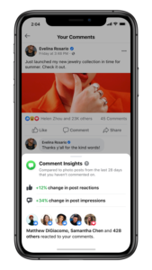 Facebook будет собирать информацию по комментариям