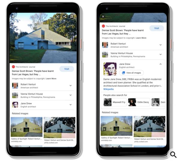 Google добавил новую опцию в поиске по изображениям для мобильных устройств