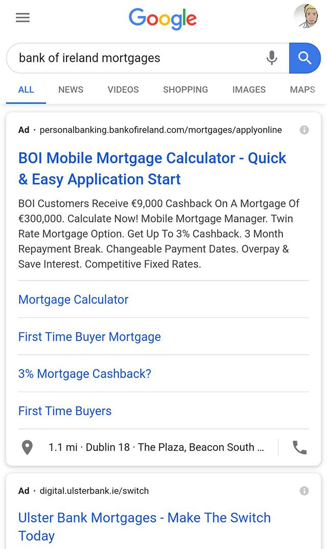 Google тестирует выделение заголовка жирным шрифтом для первого результата в поисковой выдаче