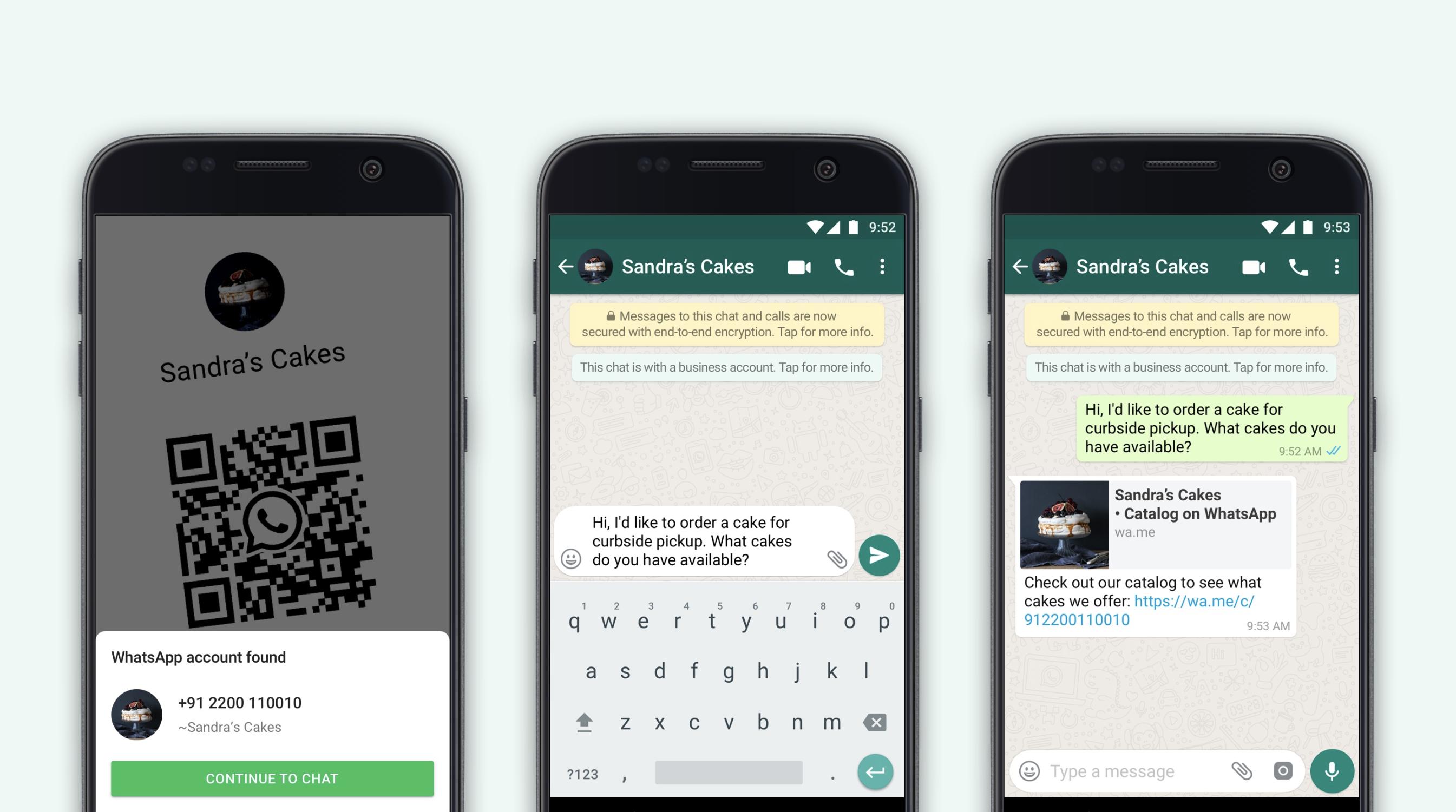 Компания Facebook анонсировала запуск 2 новых функций в приложении WhatsApp Business для компаний и их клиентов