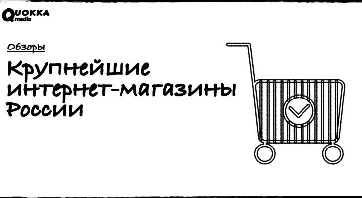 Крупнейшие интернет-магазины России за 2016-2019 гг
