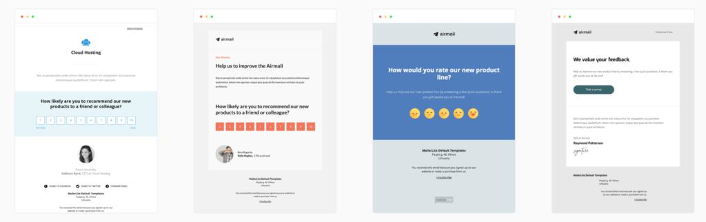 survey mailerlite