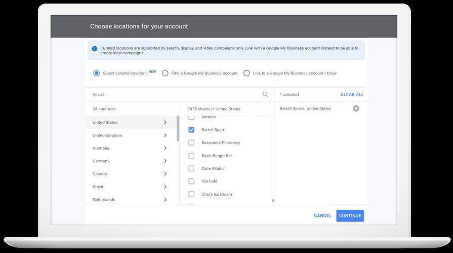 Google Ads добавил новый способ создания расширений с адресами