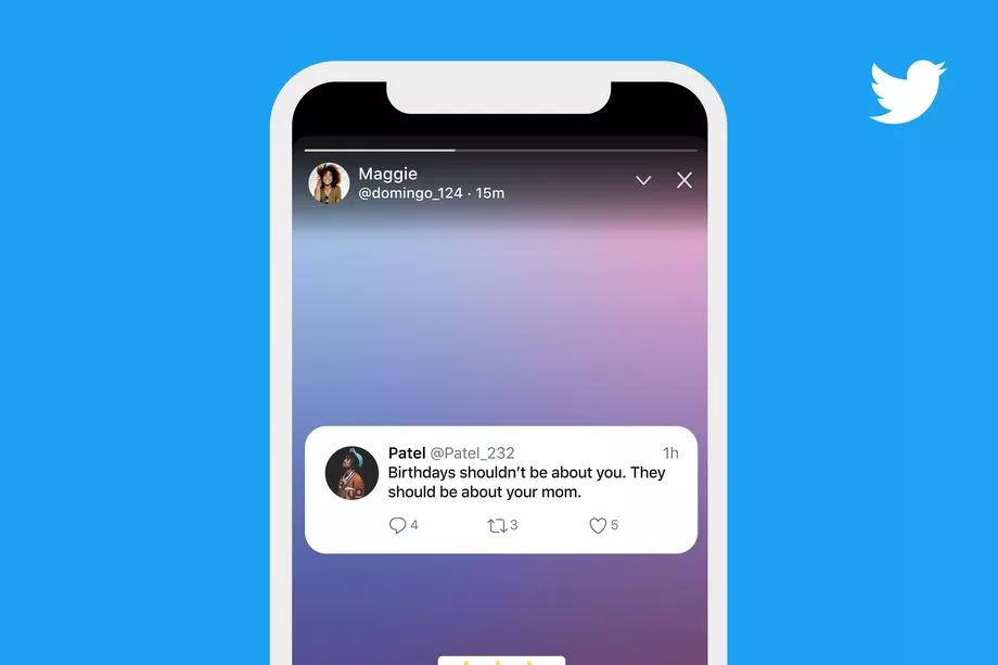 Twitter запустил истории Fleets для всех пользователей