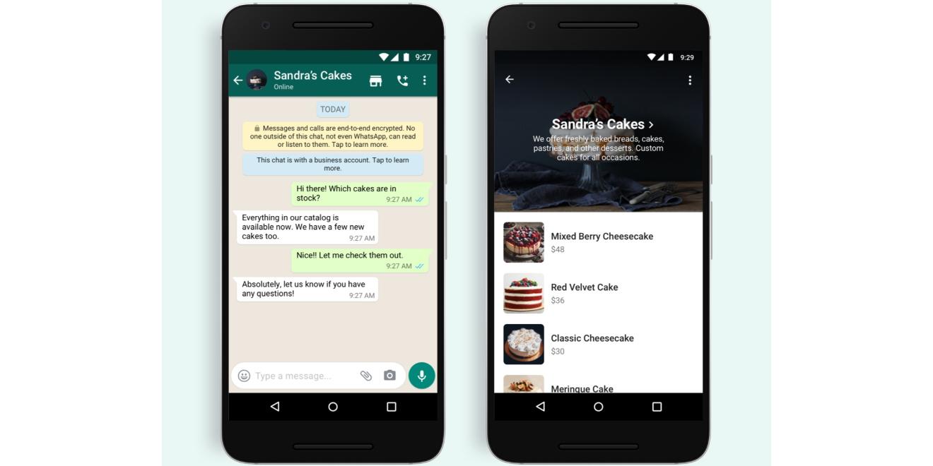 WhatsApp добавил кнопку «Магазин»