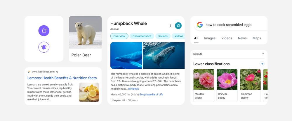 Google анонсировал новый дизайн мобильной выдачи