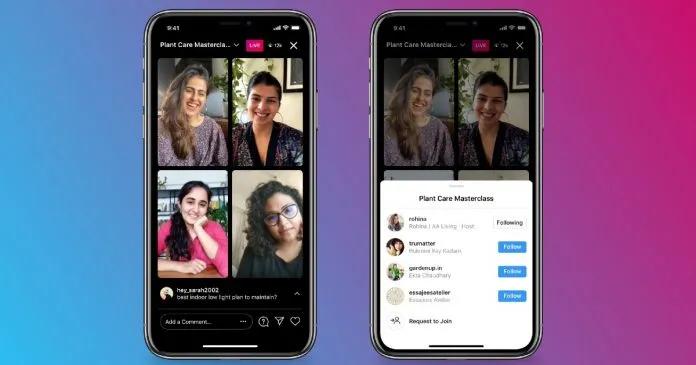 Instagram готовится запустить групповые трансляции