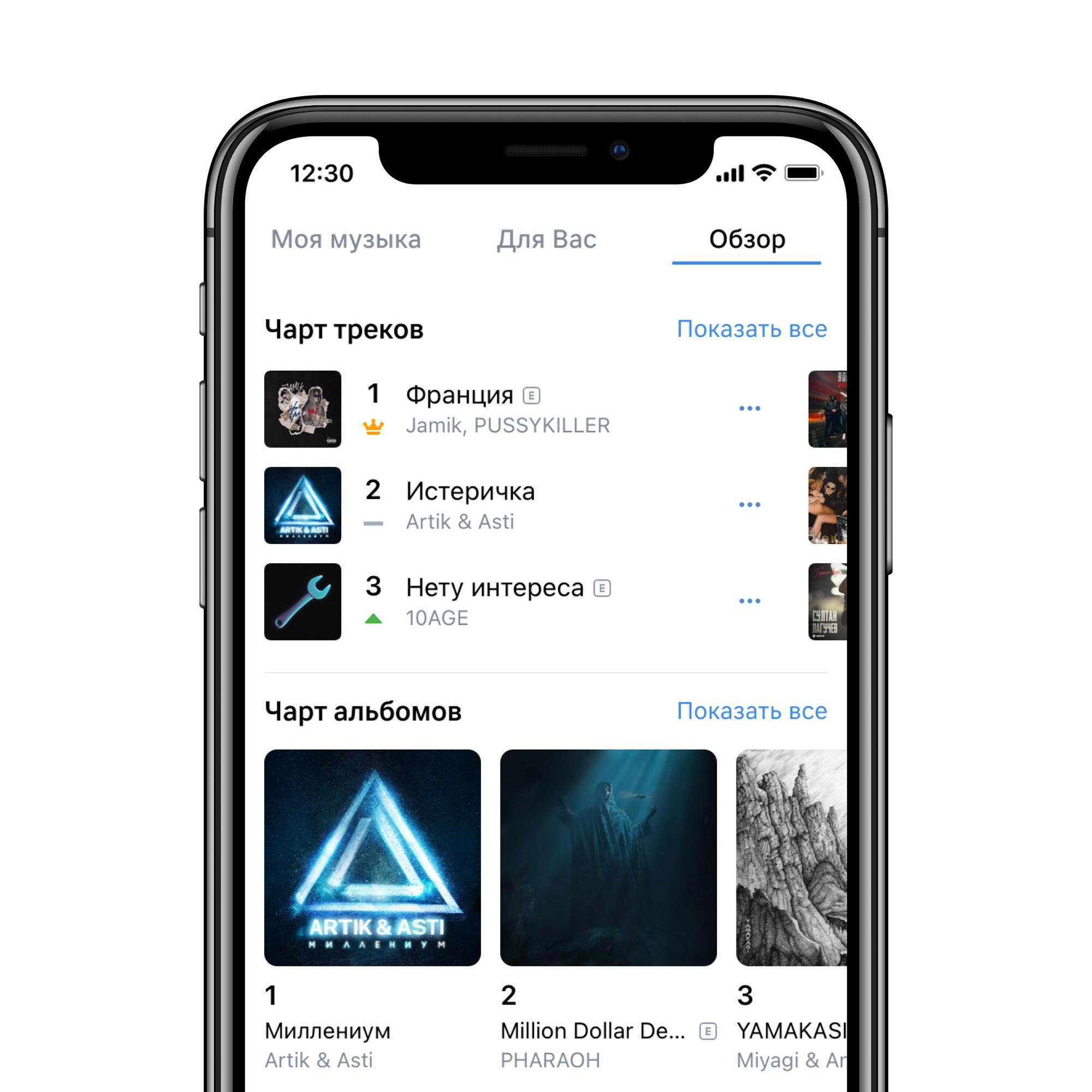 «Музыка ВКонтакте» запускает чарт альбомов
