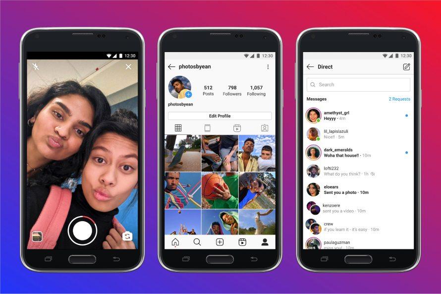 Instagram анонсировал облегченную версию приложения для Android