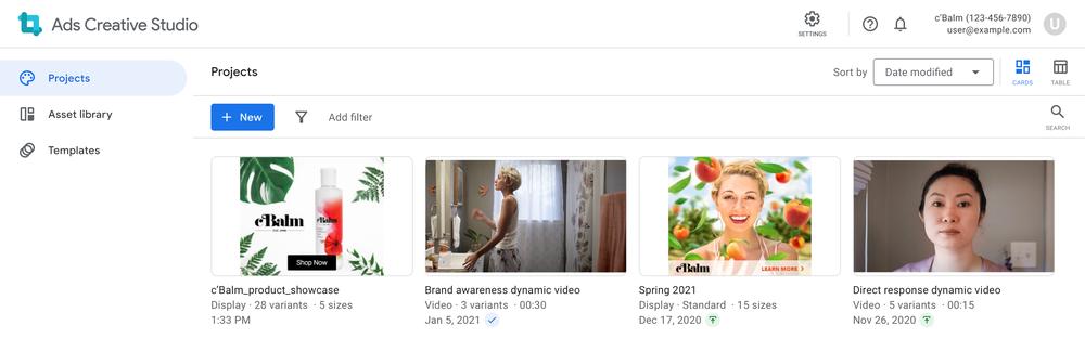 Google запустит единый центр с инструментами для создания рекламы
