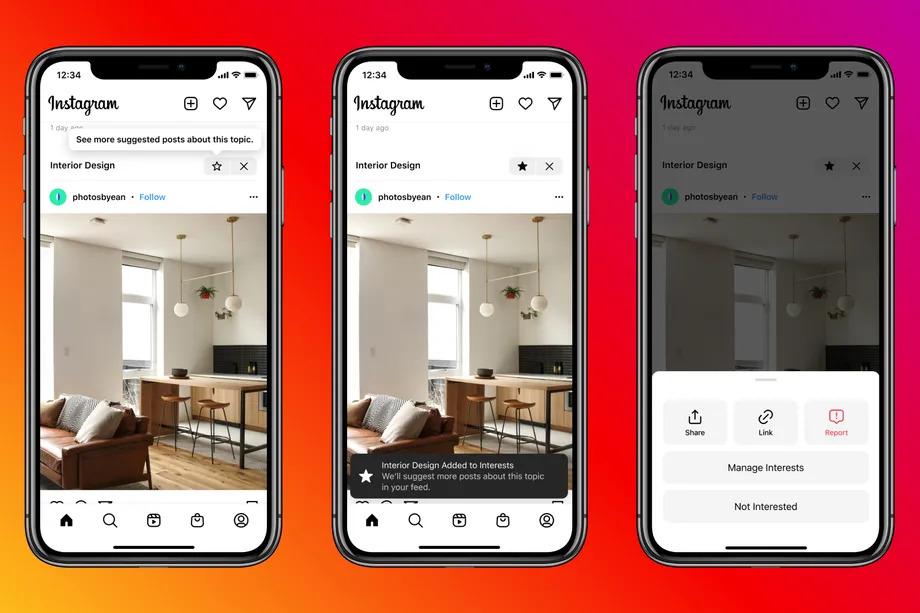 Instagram тестирует показ постов пользователей, которых нет в подписках