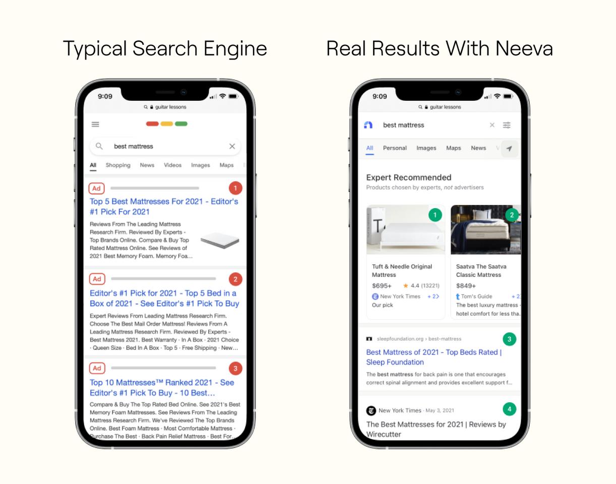 Анонимный поисковик Neeva стал доступен в США