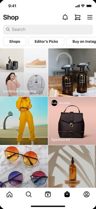 Instagram запускает рекламу во вкладке Shop по всему миру